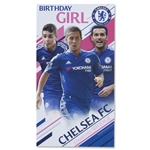 Chelsea Happy Birthday Girl Card