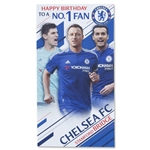 Chelsea Happy Birthday to a No. 1 Fan Card