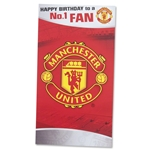 Manchester United Happy Birthday to a No. 1 Fan Card
