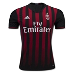 AC Milan 16/17 Authentic Home Soccer Jersey