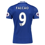 Chelsea 16/17  9 FALCAO Authentic Home Soccer Jersey