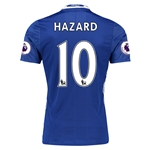 Chelsea 16/17 10 HAZARD Authentic Home Soccer Jersey