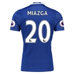 Chelsea 16/17 20 MIAZGA Authentic Home Soccer Jersey