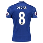 Chelsea 16/17  8 OSCAR Authentic Home Soccer Jersey
