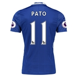 Chelsea 16/17 11 PATO Authentic Home Soccer Jersey