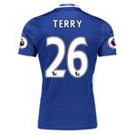 Chelsea 16/17 26 TERRY Authentic Home Soccer Jersey