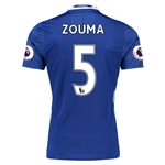 Chelsea 16/17  5 ZOUMA Authentic Home Soccer Jersey