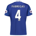 Chelsea 16/17  4 FABREGAS Home Soccer Jersey