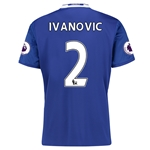 Chelsea 16/17  2 IVANOVIC Home Soccer Jersey