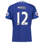 Chelsea 16/17 12 MIKEL Home Soccer Jersey