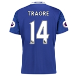 Chelsea 16/17 14 TRAORE Home Soccer Jersey