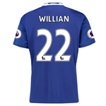 Chelsea 16/17 22 WILLIAN Home Soccer Jersey