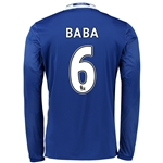 Chelsea 16/17  6 BABA LS Home Soccer Jersey