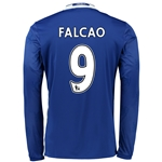 Chelsea 16/17  9 FALCAO LS Home Soccer Jersey