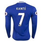 Chelsea 16/17 KANTE LS Home Soccer Jersey