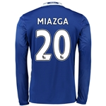 Chelsea 16/17 20 MIAZGA LS Home Soccer Jersey
