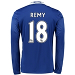 Chelsea 16/17 18 REMY LS Home Soccer Jersey
