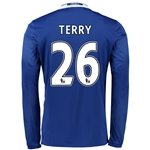 Chelsea 16/17 26 TERRY LS Home Soccer Jersey