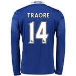 Chelsea 16/17 14 TRAORE LS Home Soccer Jersey