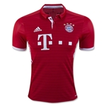 Bayern Munich 16/17 Authentic Home Soccer Jersey