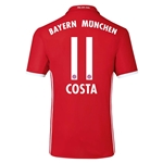 Bayern Munich 16/17 COSTA Authentic Home Soccer Jersey