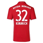 Bayern Munich 16/17 KIMMICH Authentic Home Soccer Jersey