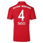 Bayern Munich 16/17 TASCI Authentic Home Soccer Jersey