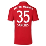 Bayern Munich 16/17 SANCHES Home Soccer Jersey