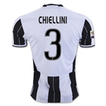 Juventus 16/17 CHIELLINI Home Soccer Jersey