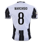 Juventus 16/17 MARCHISIO Home Soccer Jersey
