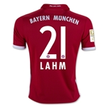 Bayern Munich 16/17 LAHM Youth Home Soccer Jersey