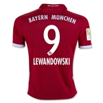 Bayern Munich 16/17 LEWANDOWSKI Youth Home Soccer Jersey