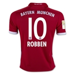 Bayern Munich 16/17 ROBBEN Youth Home Soccer Jersey