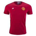 Manchester United 3-Stripe T-Shirt