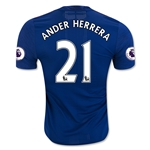 Manchester United 16/17 ANDER HERRERA Authentic Away Soccer Jersey