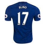 Manchester United 16/17 BLIND Authentic Away Soccer Jersey