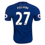 Manchester United 16/17 FELLAINI Authentic Away Soccer Jersey