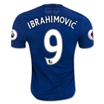 Manchester United 16/17 IBRAHIMOVIC Authentic Away Soccer Jersey
