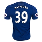Manchester United 16/17 RASHFORD Authentic Away Soccer Jersey