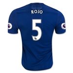 Manchester United 16/17 ROJO Authentic Away Soccer Jersey