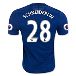 Manchester United 16/17 SCHNEIDERLIN Authentic Away Soccer Jersey