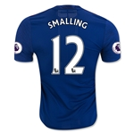 Manchester United 16/17 SMALLING Authentic Away Soccer Jersey