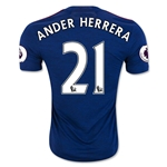 Manchester United 16/17 ANDER HERRERA Away Soccer Jersey