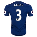 Manchester United 16/17 BAILLY Away Soccer Jersey