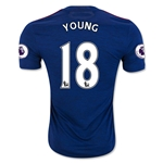 Manchester United 16/17 YOUNG Away Soccer Jersey