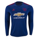 Manchester United 16/17 LS Away Soccer Jersey