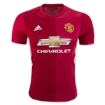 Manchester United 16/17 Authentic Home Soccer Jersey