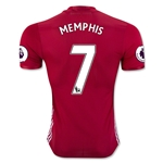 Manchester United 16/17 MEMPHIS Authentic Home Soccer Jersey