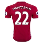 Manchester United 16/17 MKHITARYAN Authentic Home Soccer Jersey