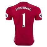 Manchester United 16/17 MOURINHO Authentic Home Soccer Jersey